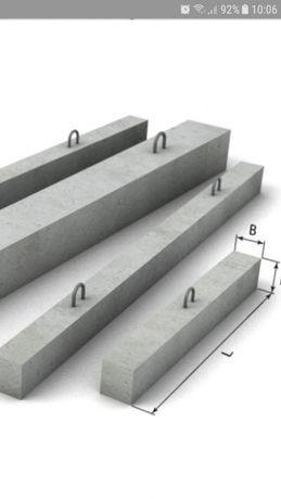 Перемычки бетонные 101х14