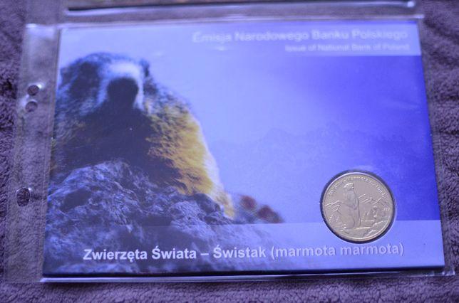 Blister 2zł Świstak - 2006r