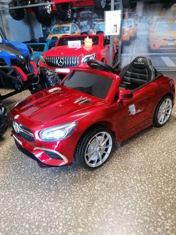Samochód MERCEDES SL63 na akumulator dla dzieci lakierowany