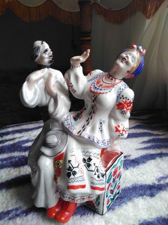 Статуэтка Дьяк и Солоха Киев