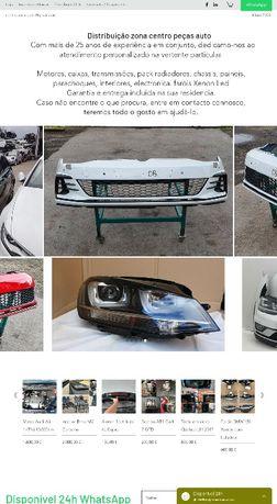 Peças motor transmissão VW Golf 7 GTD GTI R Line Polo Tiguan Jetta GTE