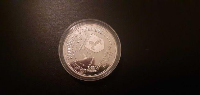 Setidava XL srebrny dukat moneta szlak bursztynowy konin