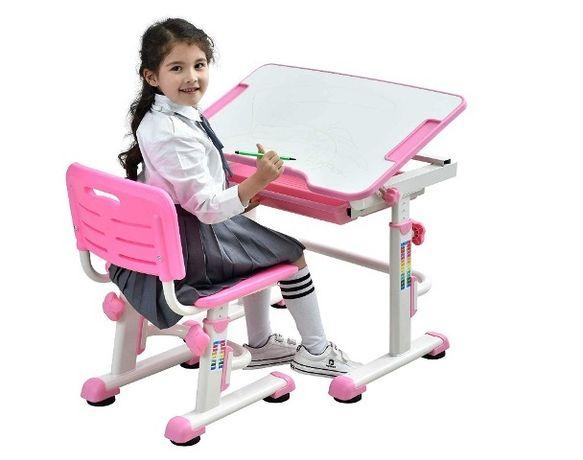 Комплект парта и стульчик Evo-Kids BD-08 Школьнику. доставка