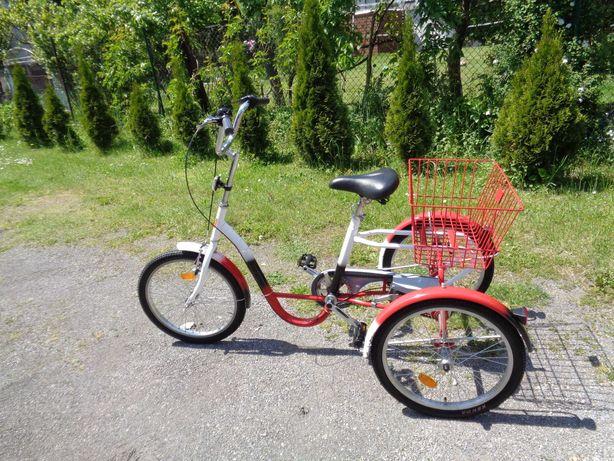 Rower trójkołowy  3 biegowy rehabilitacyjny