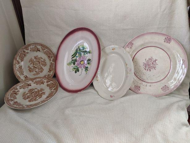 Pratos antigos para venda