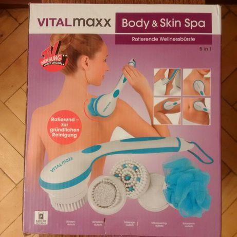 Многофункциональная массажная щетка VitalMaxx