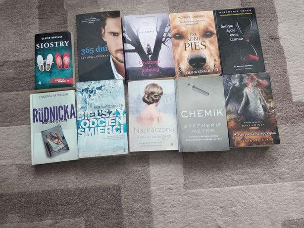 Książki - fantasty /kryminał
