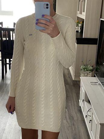 Lacoste платье тёплое оригинал