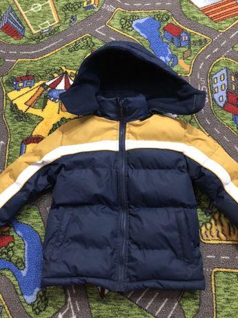Куртка європейська зима 4-5 років