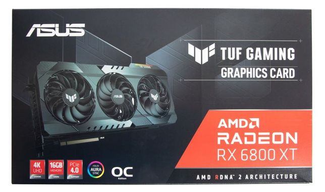 ASUS TUF Gaming Radeon RX 6800 XT(5700XT, 6700 XT, 3070, 3060, 3080)
