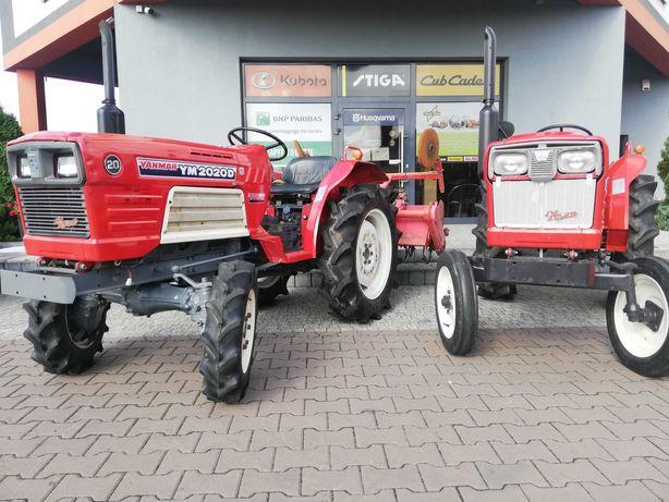 Traktor japoński YANMAR YM2020 20 KM 4x4 super stan gwarancja
