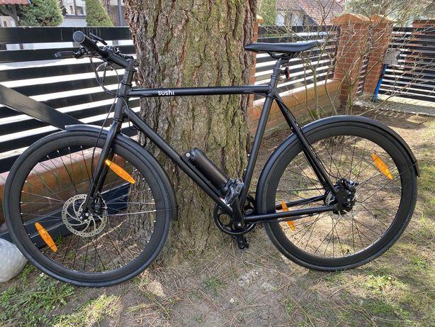 Rower elektryczny SUSHI BIKES  miejski Nowy
