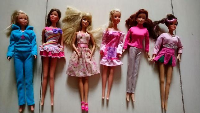 Lalki Barbie 6 sz.