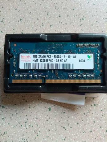 Pamięć RAM DDR3 1 GB laptop