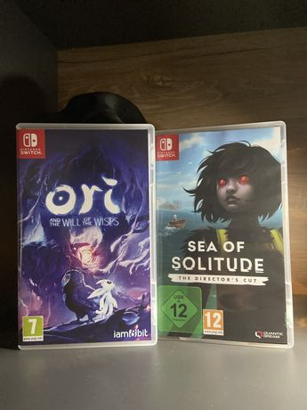 Switch: Sea of Solitude + Ori and the Will of the Wisps