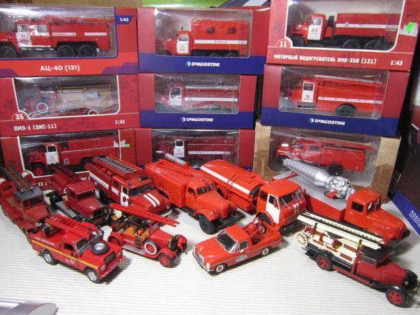 Машинки- Пожарные ( М 1х43)
