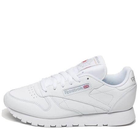 "Кроссовки Reebok Classic Leather ""All White"""