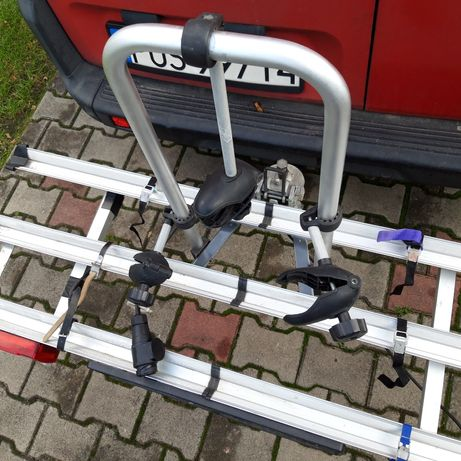Bagażnik 3 rowery na hak platforma