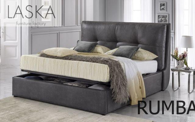 Кровать с мягким изголовьем от производителя