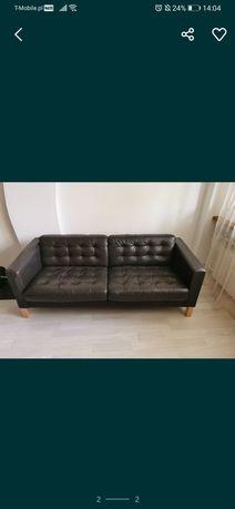 Sofa skórzana 3-osobowa.
