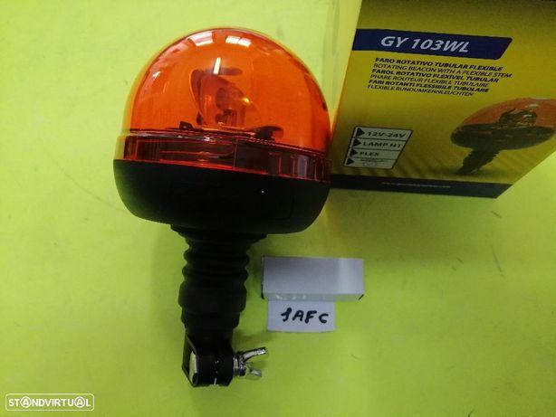 Pirilampo rotativo de barão para tractor e máquina