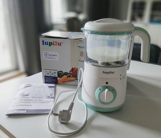 Urządzenie do przygotowywania posiłków dla niemowląt, Lupilu