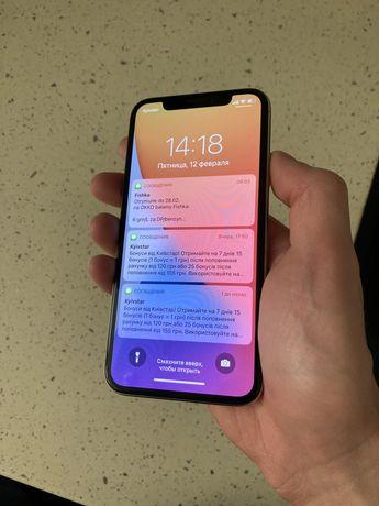 iPhone X 256gb Silver Neverlock не новый, но в отличном состоянии
