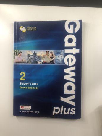 Książka gateway plus 2 niebieska angielski