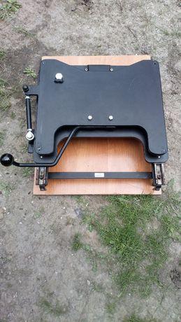 Podstawa obrotowa siedziska platforma fotela inwalidzkiego