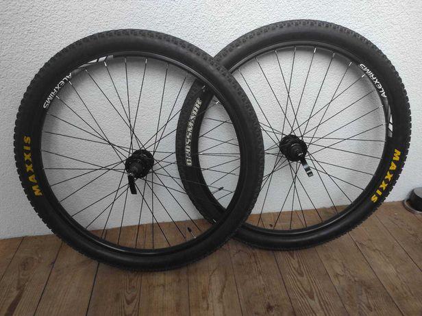 Колеса 27.5 2.1 велосипед, вело, мтб, maxxis, AlexRims, sram, вилсет