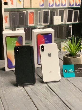 iPhone X 64/256 GB Space Gray/Silver Neverlock. Х На ГАРАНТИИ