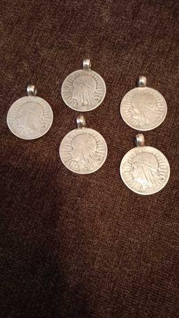 Дукач срібло, 5 штук