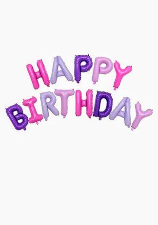 Napis happy birthday