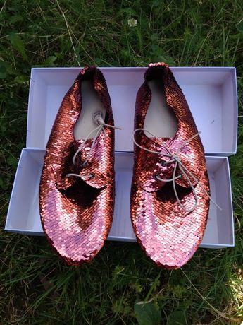 Anniel 38 37 nowe buty cekiny