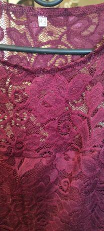 Женская одежда. Платье,цвет марсала