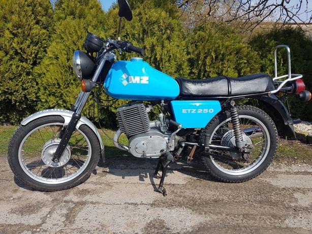 MZ ETZ 250 Oryginał DDR