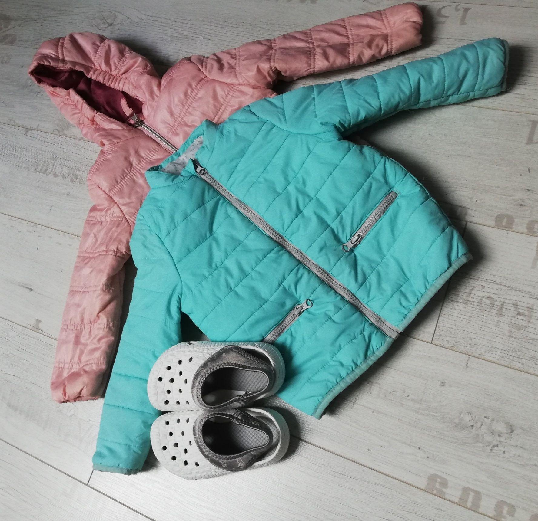 Ubranka 98-104 +buciki piankowe