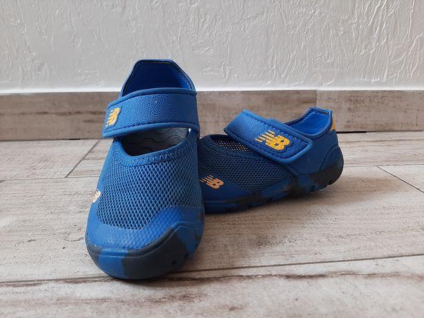 Sandały  new balance,  niebieskie, r.25