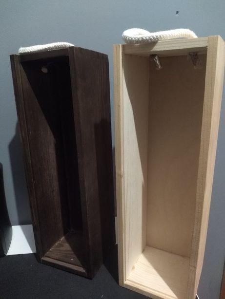 skrzynka pudełko prezent wino alkohol