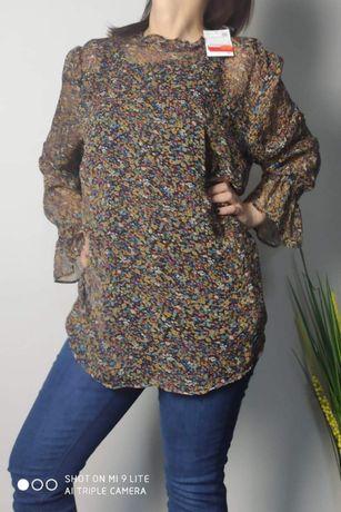 Świetna bluzka tunika , koszula Wyprzedaż ostatnia sztuka !!!
