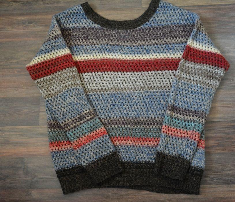 Sweter damski, kolorowy, rozmiar S Gdów - image 1