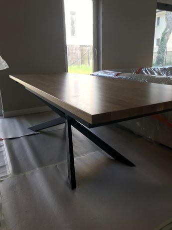 stół dębowy, stół olejowany blat