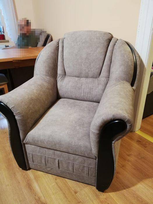 Fotele szare 2 sztuki Wschowa - image 1