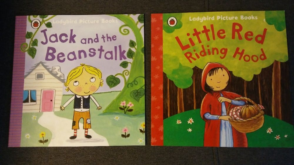 Little Red Riding Hood, Jack and the Beanstalk Ladybird Picture Books Białystok - image 1