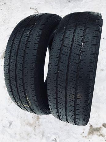 Matador 205/65r16c 2 шт зима резина шины б/у склад