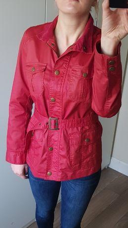 Czerwona kurtka z piaskiem Atmosphere. Rozmiar 38