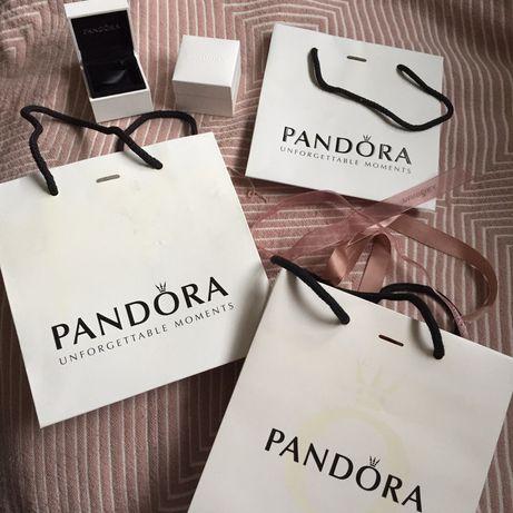 Pandora oryginalne pudełka torebki na biżuterie