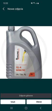 Olej przekładniowy gl4 80w90