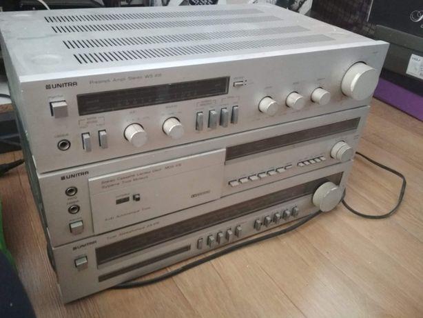 UNITRA FONICA PREAMPLI-AMPLI WS 418, Cassette Lecteur Deck MDS 418, Tu