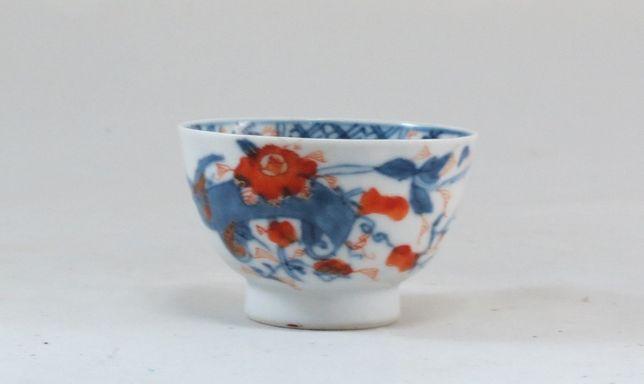 Tigela de porcelana chinesa Companhia das Índias com decoração Imari ;
